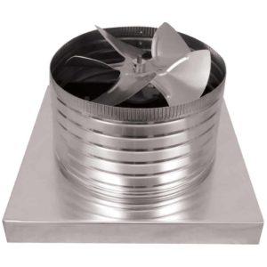 Attic Fan - Aura Fan - with Curb Mount Flange AF-12-C06-CMF-9