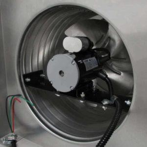 Attic Fan - Aura Fan - with Curb Mount Flange AF-12-C08-CMF-7