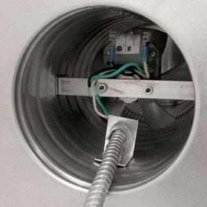 Attic Fan - Aura Fan AF-6-C12-inside