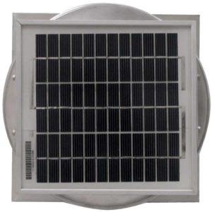 Solar Attic Fan - Aura Solar Fan with Curb Mount Flange ASF-06-C08-CMF-5