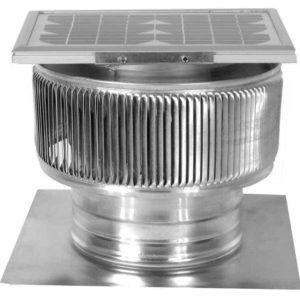 Solar Attic Fan - Aura Solar Fan ASF-08-C02