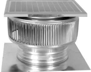 Solar Attic Fan - Aura Solar Fan ASF-10-C2-side-1