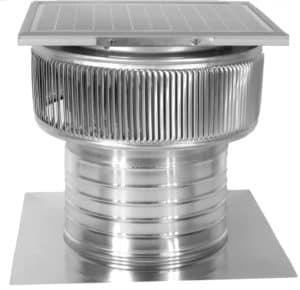 Solar Attic Fan - Aura Solar Fan ASF-10-C6-side-1