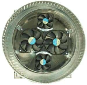 Aura Solar Fan Retrofit Vent Cap ASF-12-bottom