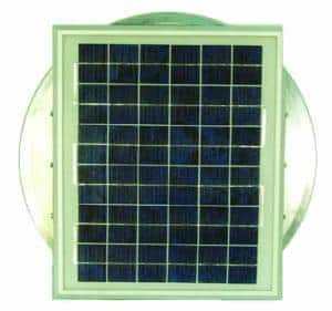 Aura Solar Fan Retrofit Vent Cap ASF-12-top