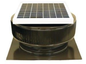 Solar Attic Fan - Aura Solar Fan ASF-14-C2-BR