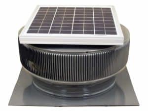 Solar Attic Fan - Aura Solar Fan ASF-14-C2-WD