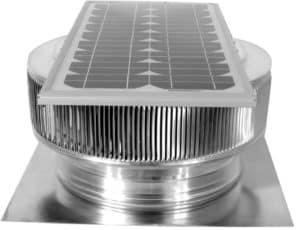 Solar Attic Fan - Aura Solar Fan ASF-14-C2-side-2