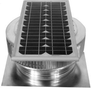 Solar Attic Fan - Aura Solar Fan ASF-14-C2-side-3