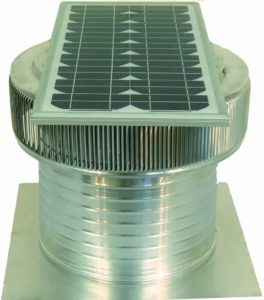 Solar Attic Fan - Aura Solar Fan ASF-14-C8-side-2-1
