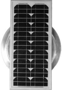 Aura Solar Fan Retrofit Vent Cap ASF-14-Top