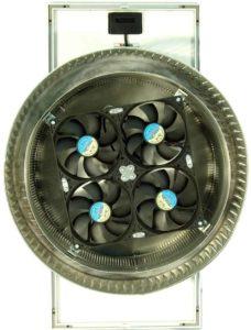 Top of Solar Exhaust Fan