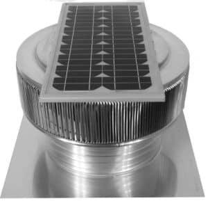 Solar Attic Fan - Aura Solar Fan ASF-16-C04