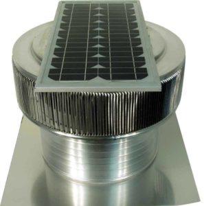 Solar Attic Fan - Aura Solar Fan ASF-16-C06