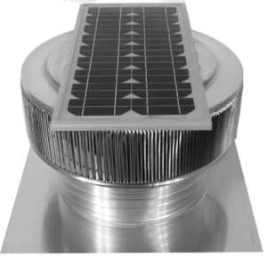 Solar Attic Fan - Aura Solar Fan ASF-16-C4-side-2