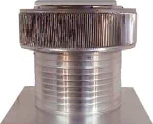 Solar Attic Fan - Aura Solar Fan ASF-16-C8-side-1