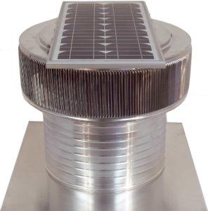 Solar Attic Fan - Aura Solar Fan ASF-16-C8-side-2