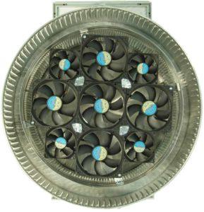Aura Solar Fan Retrofit Vent Cap ASF-16-bottom