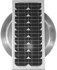 Aura Solar Fan Retrofit Vent Cap ASF-16-top