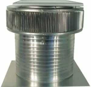 Solar Attic Fan - Aura Solar Fan ASF-18-C12-side-2
