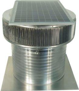 Solar Attic Fan - Aura Solar Fan ASF-18-C12-side-3