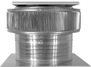 Solar Attic Fan - Aura Solar Fan ASF-18-C6-side-1