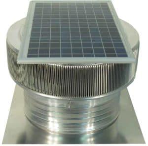 Solar Attic Fan - Aura Solar Fan ASF-18-C6-side-3