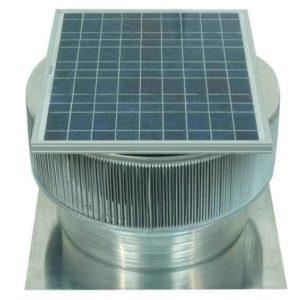 Solar Attic Fan - Aura Solar Fan ASF-20-C04