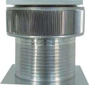 Solar Attic Fan - Aura Solar Fan ASF-20-C12-side-1
