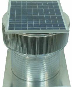 Solar Attic Fan - Aura Solar Fan ASF-20-C12-side-3