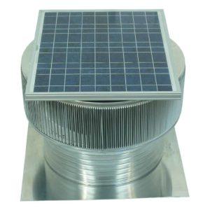 Solar Attic Fan - Aura Solar Fan ASF-20-C6-side-3a