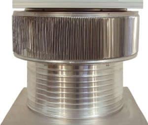 Solar Attic Fan - Aura Solar Fan ASF-20-C8-side-1