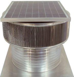 Solar Attic Fan - Aura Solar Fan ASF-20-C8-side-2