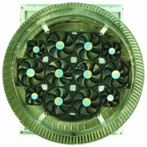 Aura Solar Fan Retrofit Vent Cap ASF-20-bottom