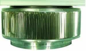 Aura Solar Fan Retrofit Vent Cap ASF-20-head-side