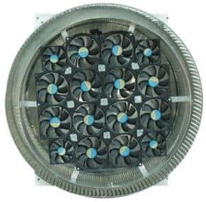 Aura Solar Fan Retrofit Vent Cap ASF-24-Bottom
