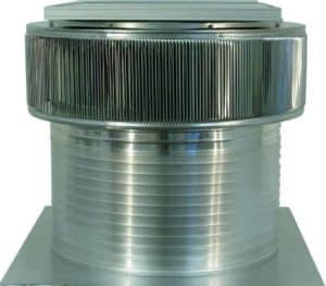 Solar Attic Fan - Aura Solar Fan ASF-24-C12-side-1