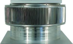 Solar Attic Fan - Aura Solar Fan ASF-24-C4-side-1