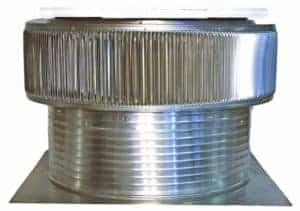 Solar Attic Fan - Aura Solar Fan ASF-30-C8-side