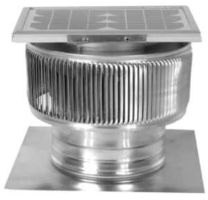 Solar Attic Fan - Aura Solar Fan ASF-8-C2-side-1