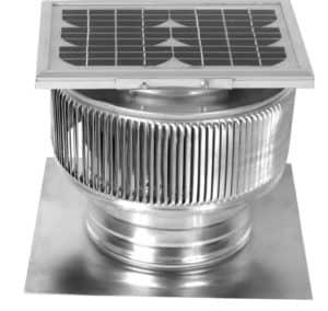 Solar Attic Fan - Aura Solar Fan ASF-8-C2-side-2