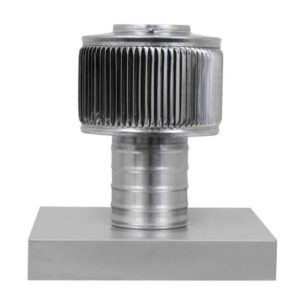 Gravity Ventilator - Aura Vent with Curb Mount Flange AV-04-C04-CMF-1
