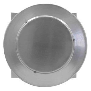Gravity Ventilator - Aura Vent with Curb Mount Flange AV-06-C12-CMF-4