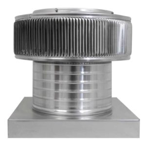 Gravity Ventilator - Aura Vent with Curb Mount Flange AV-10-C06-CMF-1