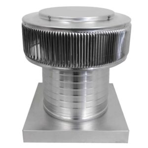 Gravity Ventilator - Aura Vent with Curb Mount Flange AV-10-C08-CMF-2