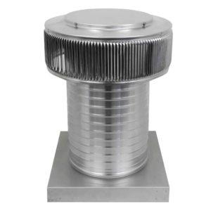 Gravity Ventilator - Aura Vent with Curb Mount Flange AV-10-C12-CMF-2-1