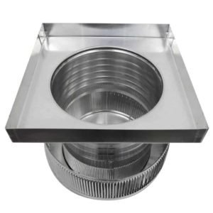 Gravity Ventilator - Aura Vent with Curb Mount Flange AV-12-C06-CMF-10