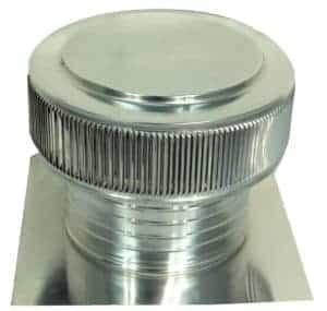 Gravity Ventilator - Aura Ventilator AV-12-C6-angle