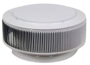 PVC Aura Vent Cap AV-12-PVC-white-angle