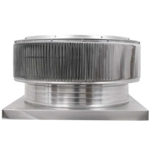 Gravity Ventilator - Aura Vent with Curb Mount Flange AV-24-C04-CMF-1